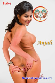 South Actress Anjali Shows her Naked Body