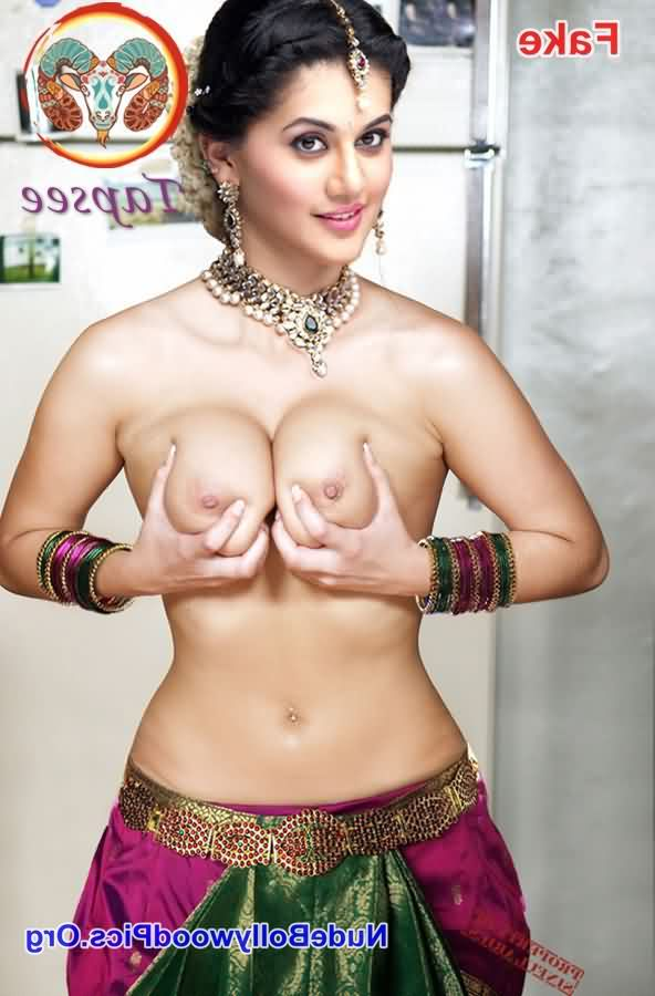 Taapsee Pannu boobs 2 - Taapsee Pannu Naked XXX Porn Photos
